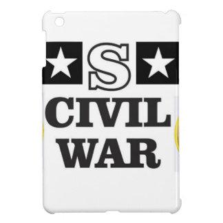 röd vit- och blåttinbördeskrig iPad mini skal