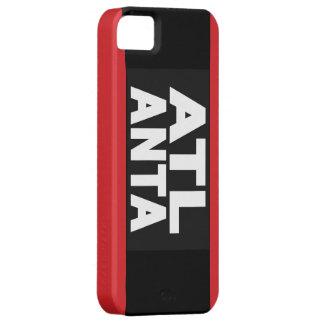 Röda Atlanta 2 Barely There iPhone 5 Fodral