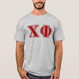 Röda brev för ChiPhi Tee Shirt