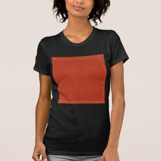 Röda COWBOYS för läderLookformgivare Tee Shirts