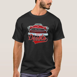 Röda Desoto 1954 på den svart T-tröja Tröja