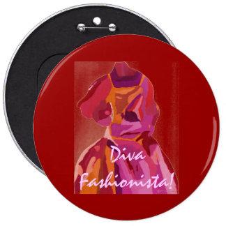 Röda DivaFashionistahöst Nål