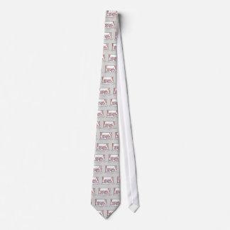 röda fotbollhundlag slips