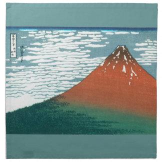 Röda Fuji amerikanMoJo servetter