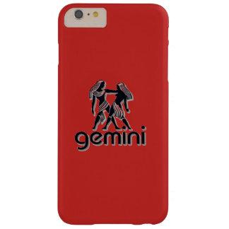 Röda Gemini, plus för iPhone 6/6s, mobilt fodral Barely There iPhone 6 Plus Skal