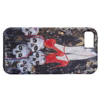 Röda häl iPhone 5 Case-Mate fodral