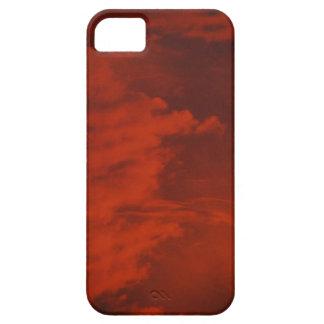 Röda himmlar iPhone 5 Case-Mate fodral
