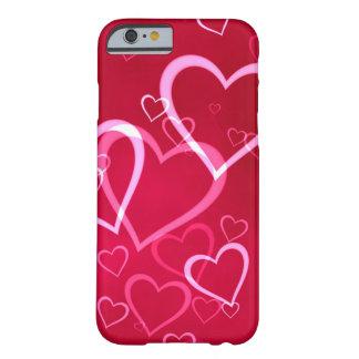Röda hjärtavalentin dag barely there iPhone 6 skal