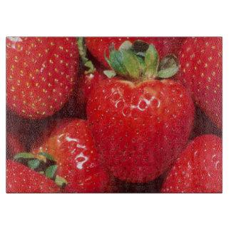 Röda jordgubbar