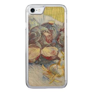 Röda kålar och lökar av Vincent Van Gogh Carved iPhone 7 Skal