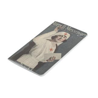 Röda korsjuksköterska anteckningsbok