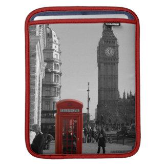 Röda London ringer boxas ipad sleeve