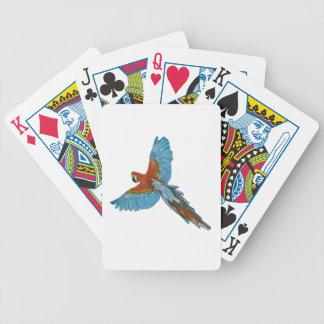 Röda Mcaw Spelkort