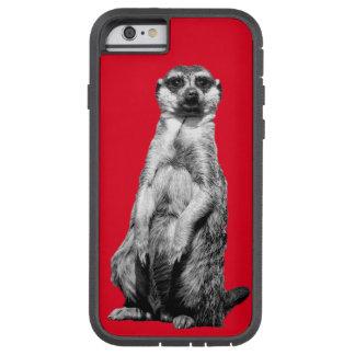 Röda Meerkat Tough Xtreme iPhone 6 Fodral