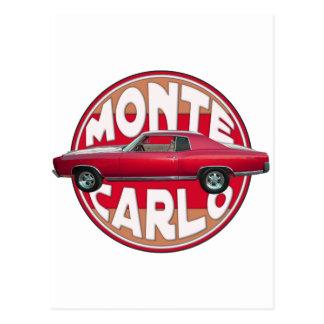 Röda Monte 1970 - carlo Vykort