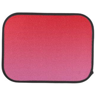 """""""Röda och rosa Ombre"""", Bilmatta"""
