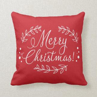 Röda och vitgod jul kudder kudde