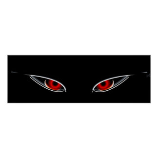 Röda ögon poster