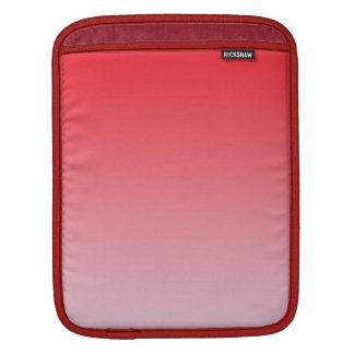 Röda Ombre iPad Sleeve