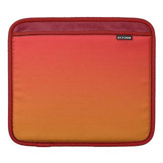 Röda & orange Ombre iPad Sleeve