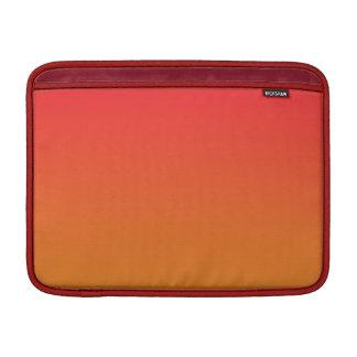 Röda & orange Ombre MacBook Air Sleeve