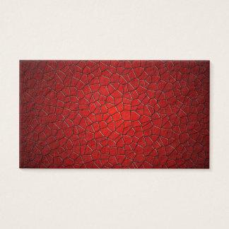 Röda polygoner visitkort