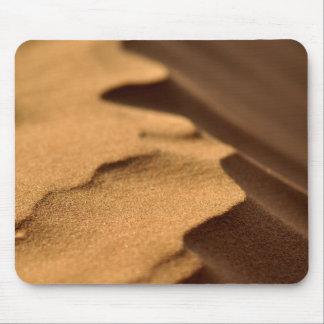 Röda Sanddyner virvlar runt Mousepad Musmatta