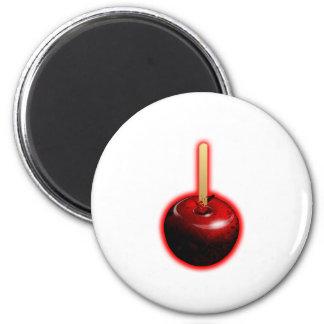 Röda skina Apple - förbjuden frukt Magnet