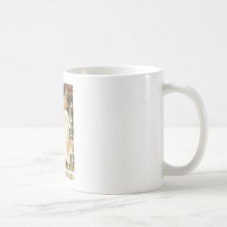 Röda snövit och ro kaffemugg
