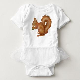 Röda Squirl Tee Shirts