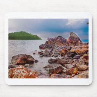 röda stenar av fiji musmatta