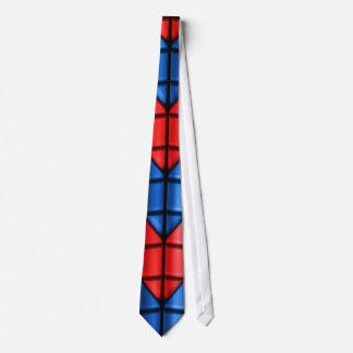 Röda Superheroes - och blått Slips