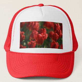 Röda tulpan keps