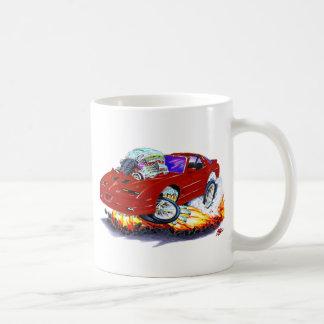 Rödbrun bil 1982-92 för trans.-förmiddag kaffemugg