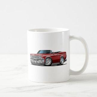 Rödbrun cabriolet 1965-66 för Impala Kaffemugg