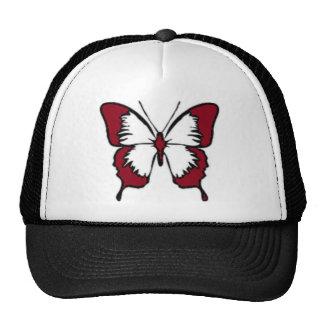 Rödbrun fjäril keps