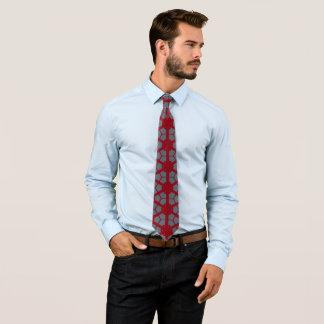 Rödbrun grått sparar dagen slips