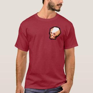 (Rödbrun) skalleutslagsplats, T-shirt