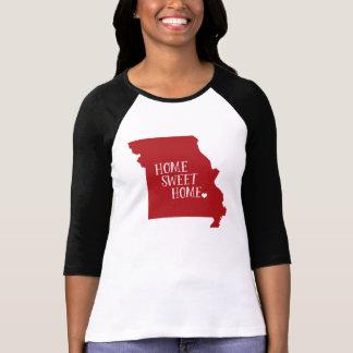 Rödbrunt Missouri hem- sötsakhem Tshirts