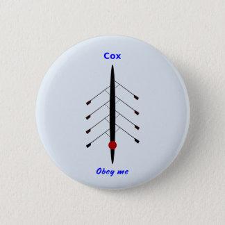 Rodden cox lyder mig standard knapp rund 5.7 cm