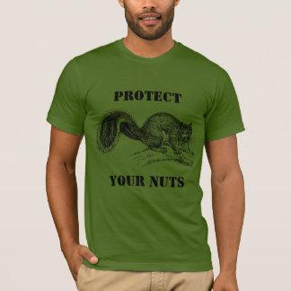 Rodenten eller en man skyddar dina nöt #4 tröjor