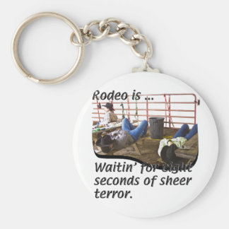 Rodeo-är Rund Nyckelring