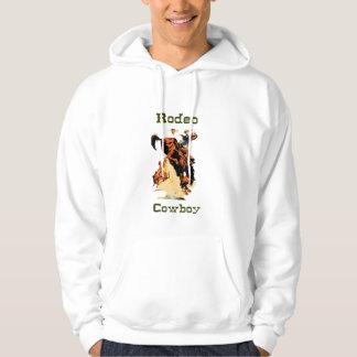 RodeoCowboyHoodie/svettskjorta Hoodie