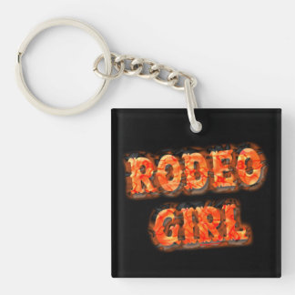 Rodeoflicka Keychains