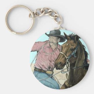 RODEOpartners, Cowboyrådbrottning Rund Nyckelring