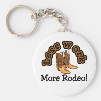 RodeoT-tröja och Gifts. Rund Nyckelring