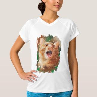 Rödhårig kattunge tee shirts