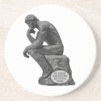 Rodins tänkare - så många förfäder underlägg