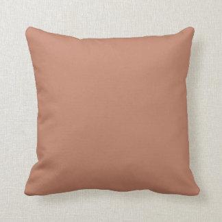 Rodna guld förkopprar brunt dekorativ kudde