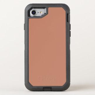 Rodna guld förkopprar brunt OtterBox defender iPhone 7 skal
